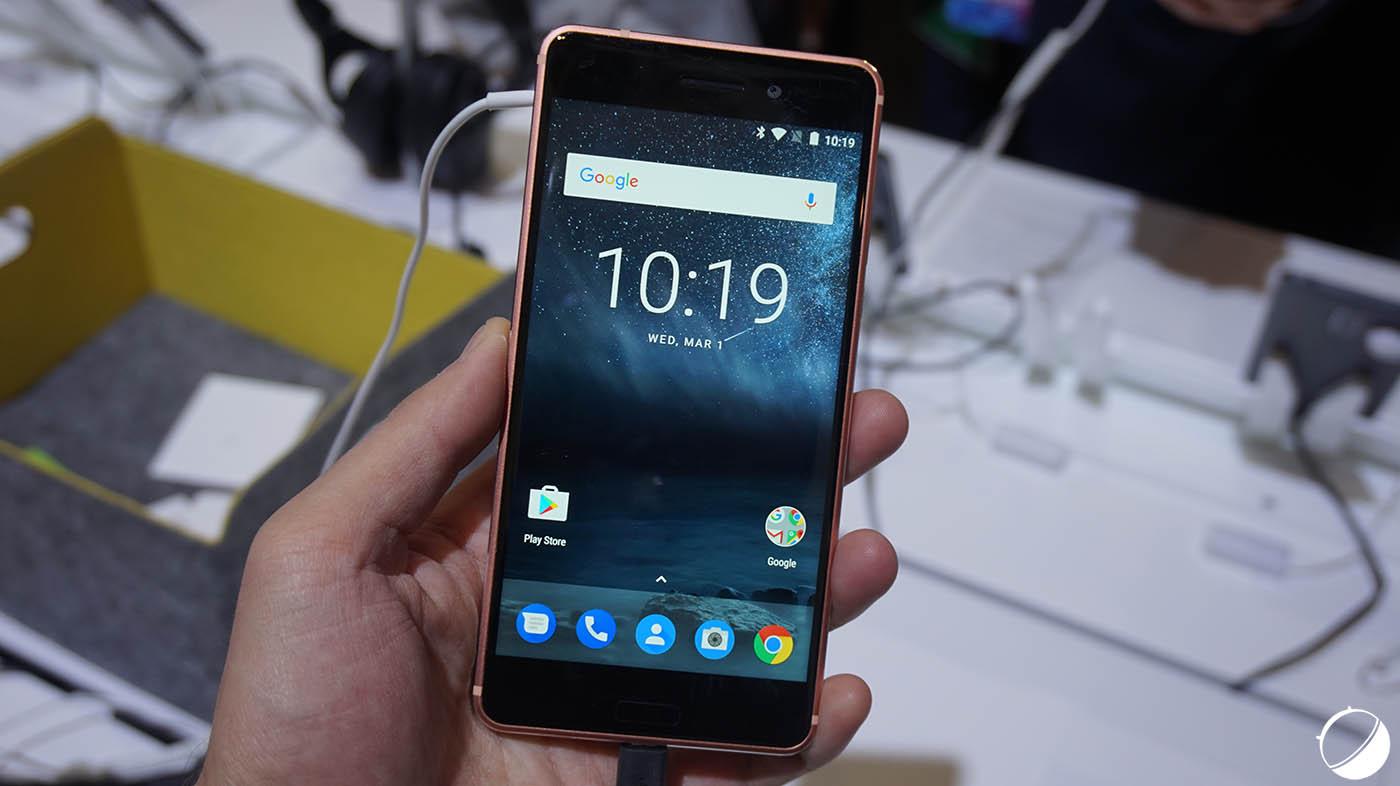 Le Nokia 6 est le premier smartphone à recevoir la mise à jour de sécurité de juillet