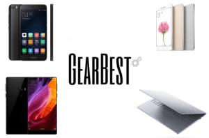 6 meilleures offres de la semaine sur GearBest : Xiaomi Mi 5, Mi 5S, Mi MIX, Xiaomi Air 13 en promotion