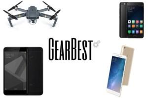6 meilleures offres de la semaine sur GearBest : Xiaomi Mi6, Mi 5, Redmi 4X en promotion