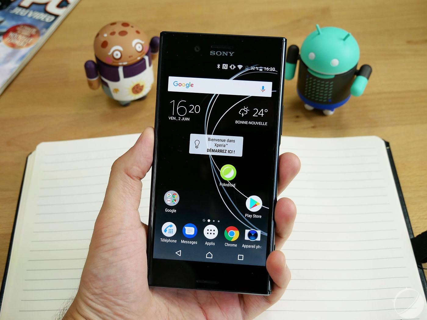 Sony Xperia XZ Premium : Android Oreo arrive avant la fin de l'année