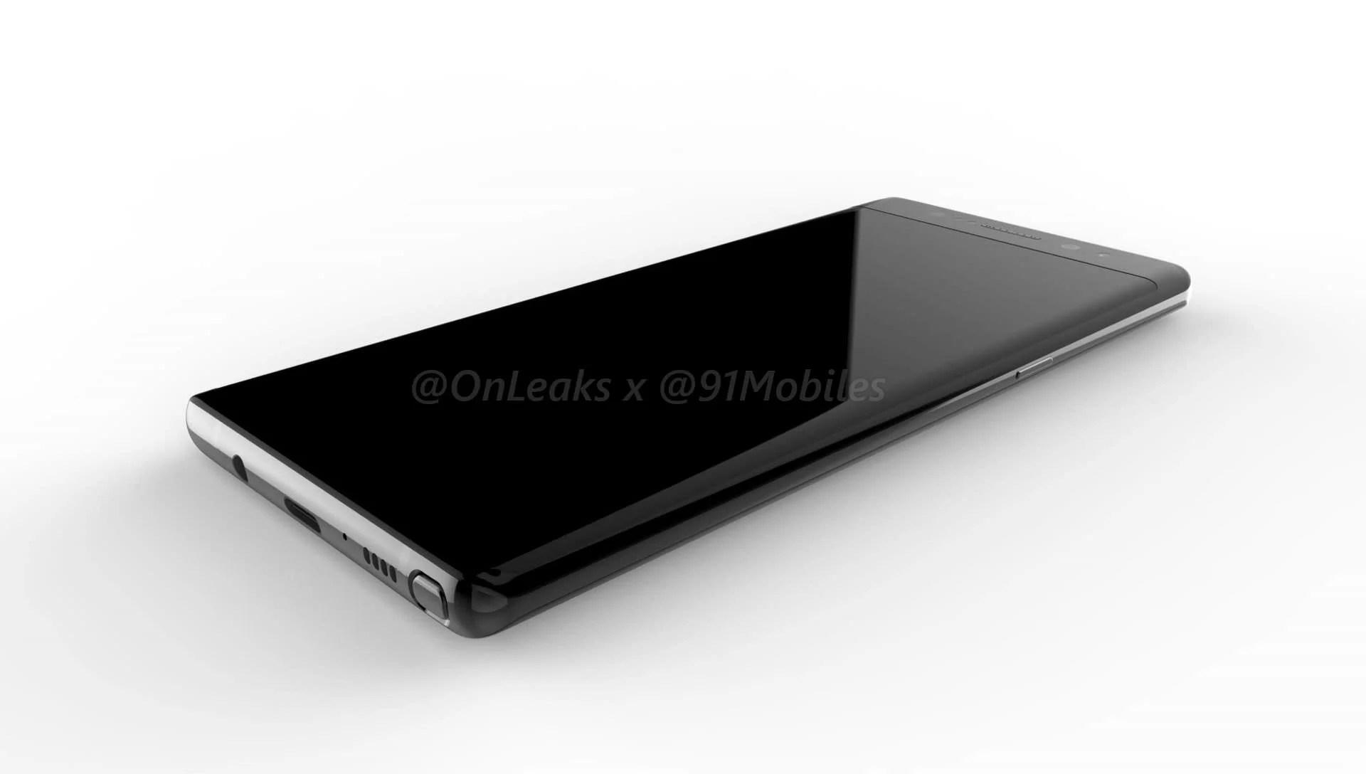 Samsung Galaxy Note 8 : voici de premières images de son design avec écran Infinity