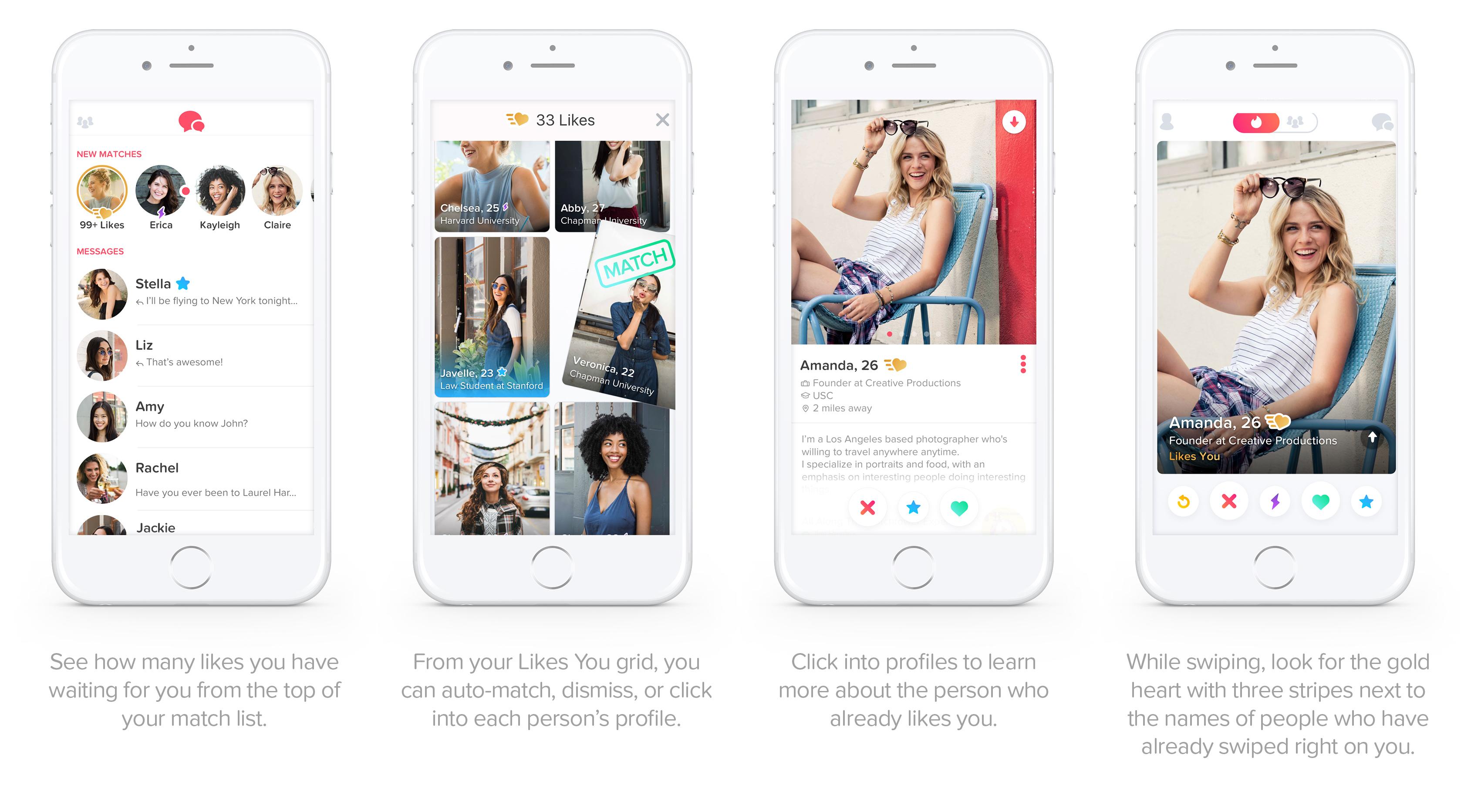 Tinder Gold : l'application la plus rentable grâce à son offre payante