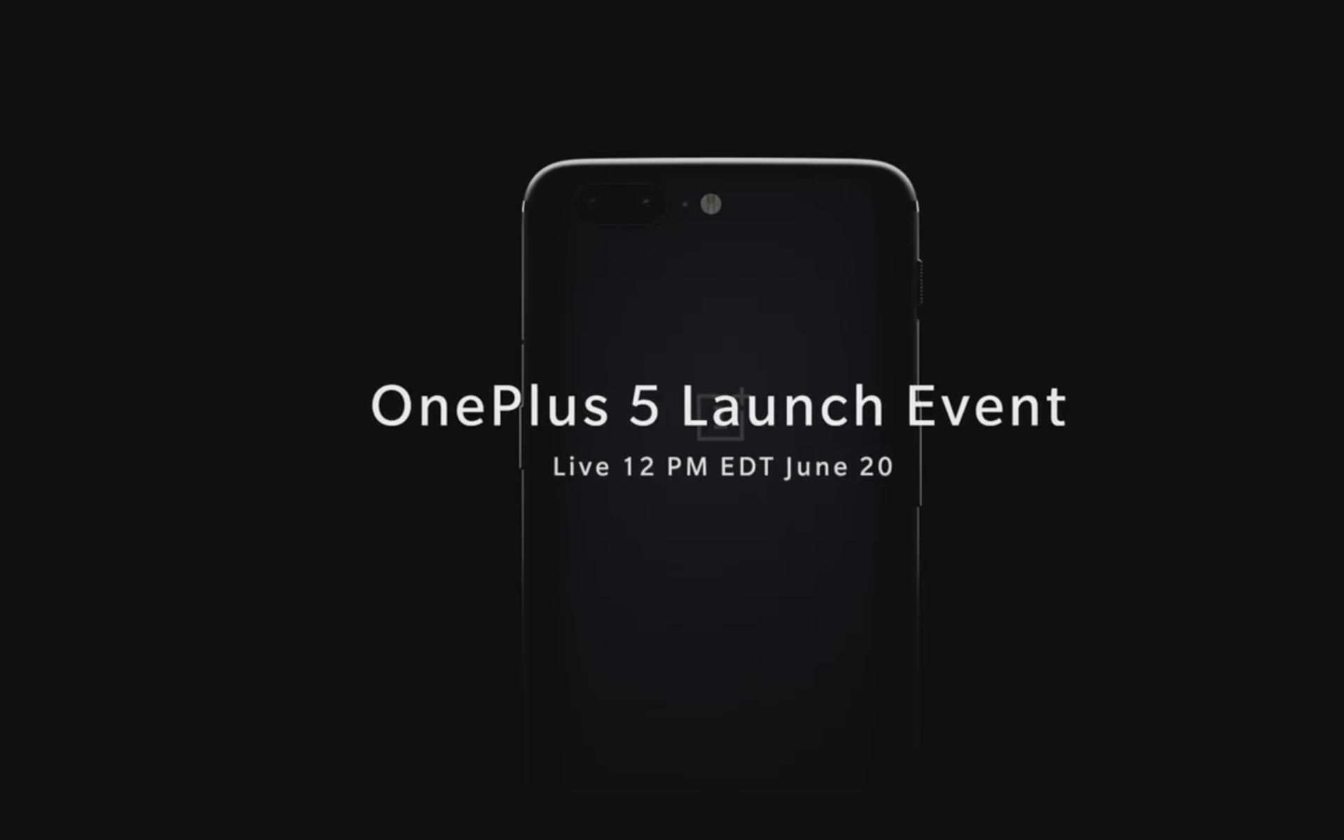 OnePlus 5 : suivez la conférence en live vidéo à partir de mardi à 18 heures