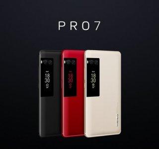 Les Meizu Pro 7 et Pro 7 Plus et leurs doubles écrans officialisés en France
