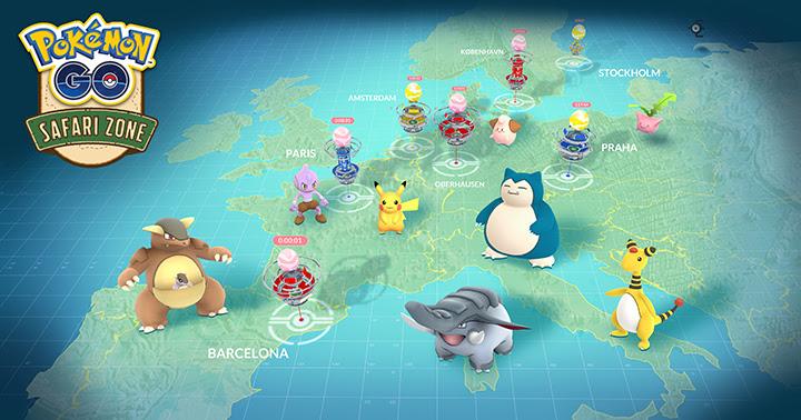 Pokémon GO Safari Zone : l'événement de l'été pour capturer des Pokémon inédits
