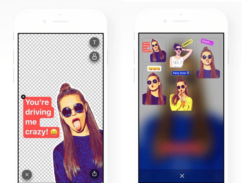 Prisma transforme vos selfies en stickers avec Sticky