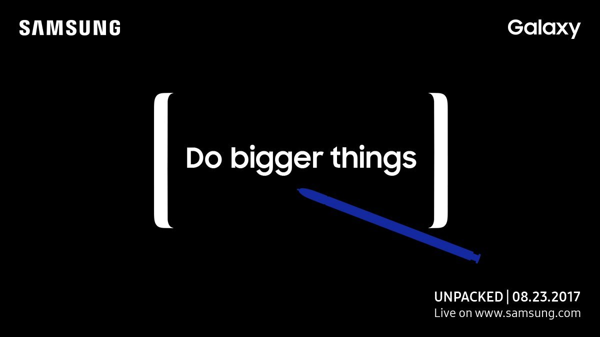 Unpacked 2017 : Samsung annonce la conférence du Galaxy Note 8