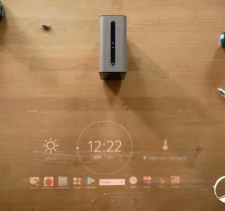 Test vidéo du Sony Xperia Touch: quand votre table devient tactile