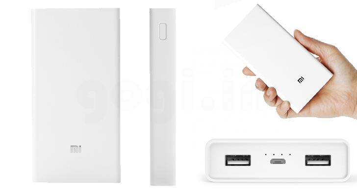 🔥 Soldes : la batterie externe Xiaomi Power Bank 2 passe à 20,46 euros sur GearBest