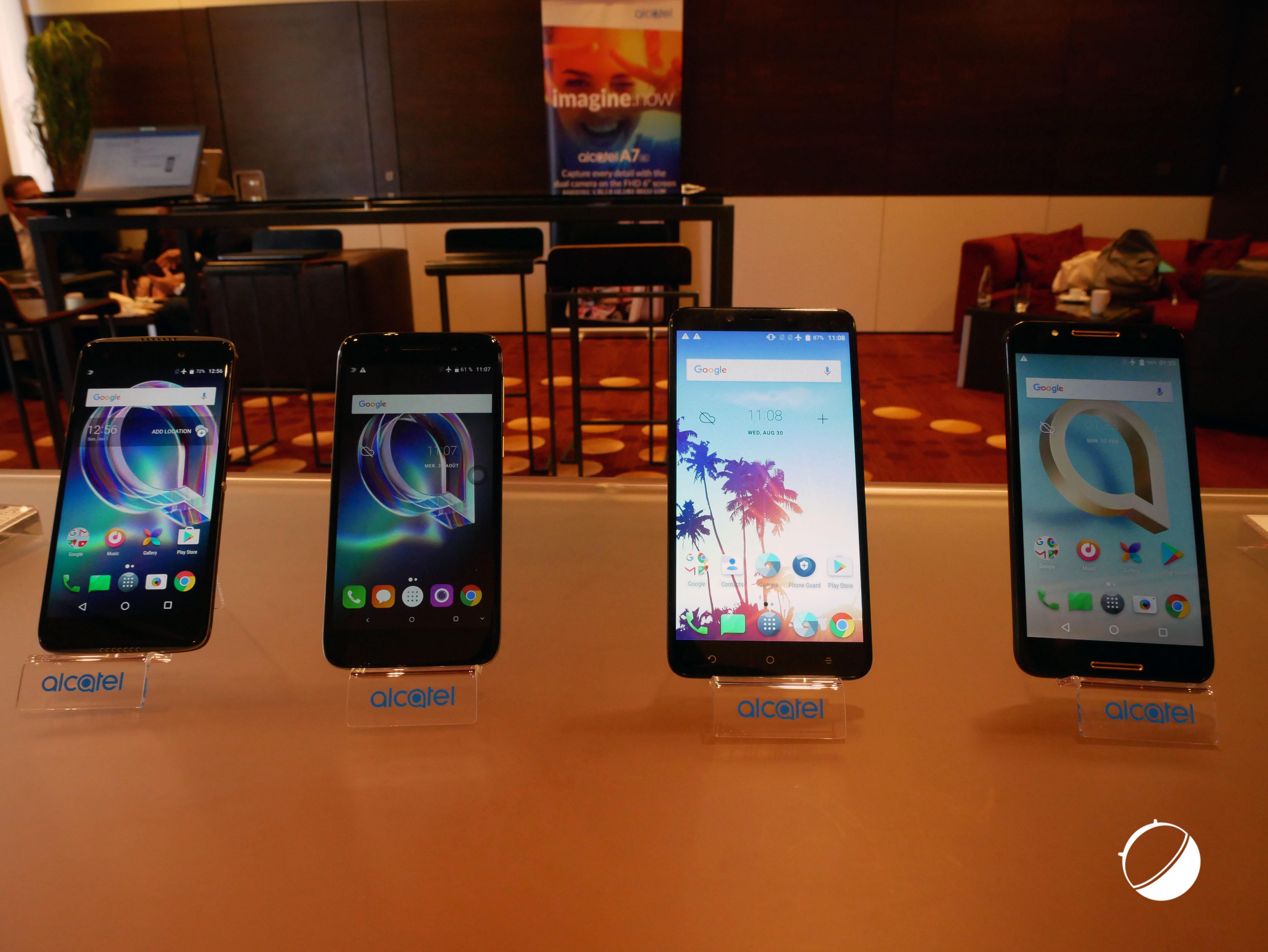 Prise en main des Alcatel Idol 5, Idol 5s, A7 et A7 XL, «accessibles et sans compromis»