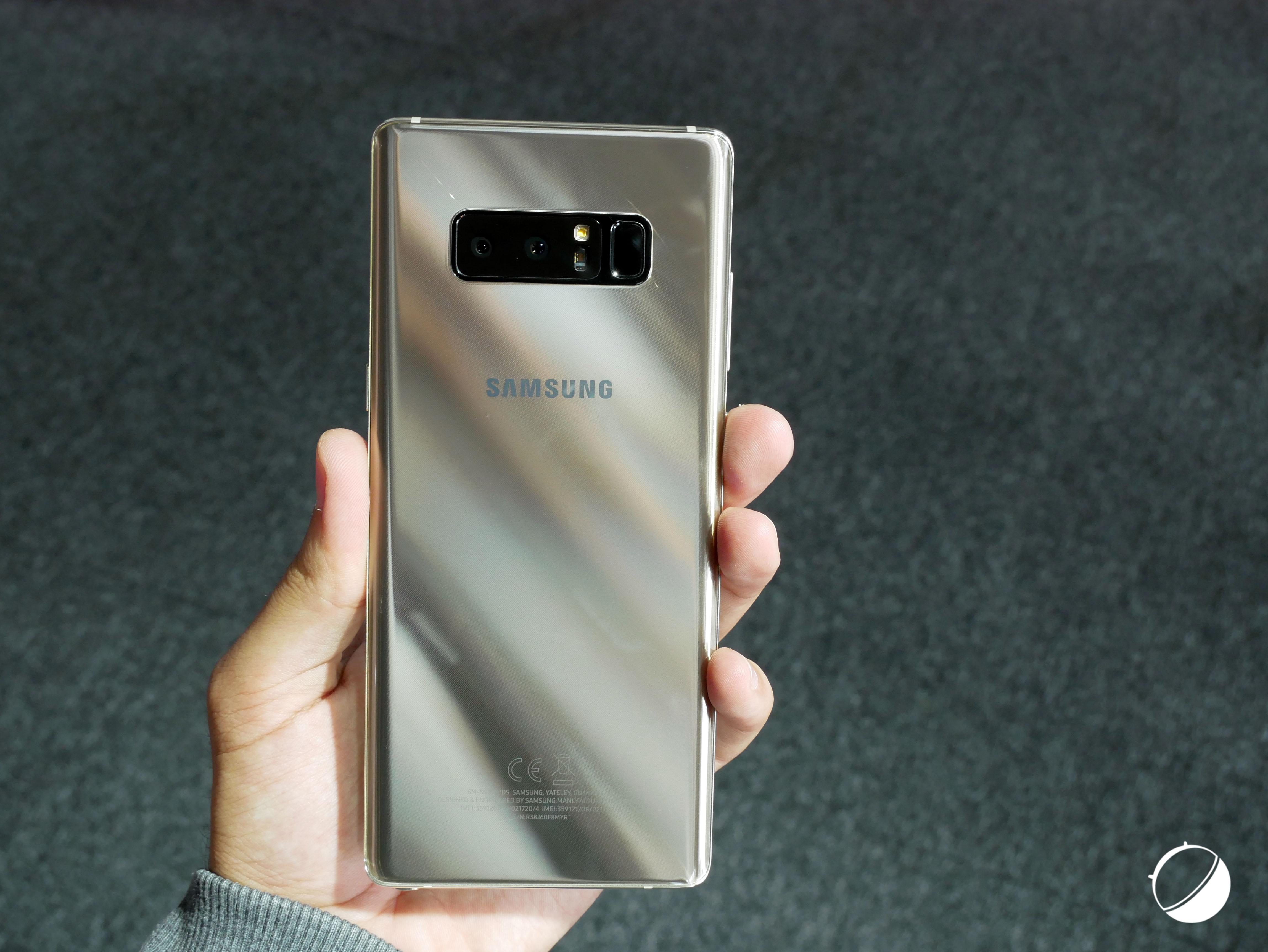 Que pensez-vous du Samsung Galaxy Note 8 ?