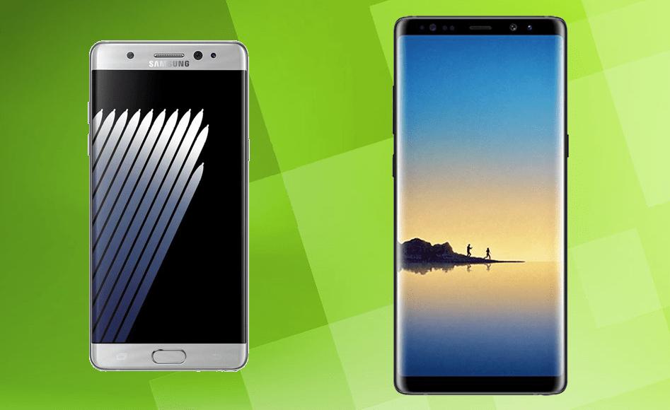 Samsung Galaxy Note 8 vs Galaxy Note 7 : quelles sont les nouveautés ?