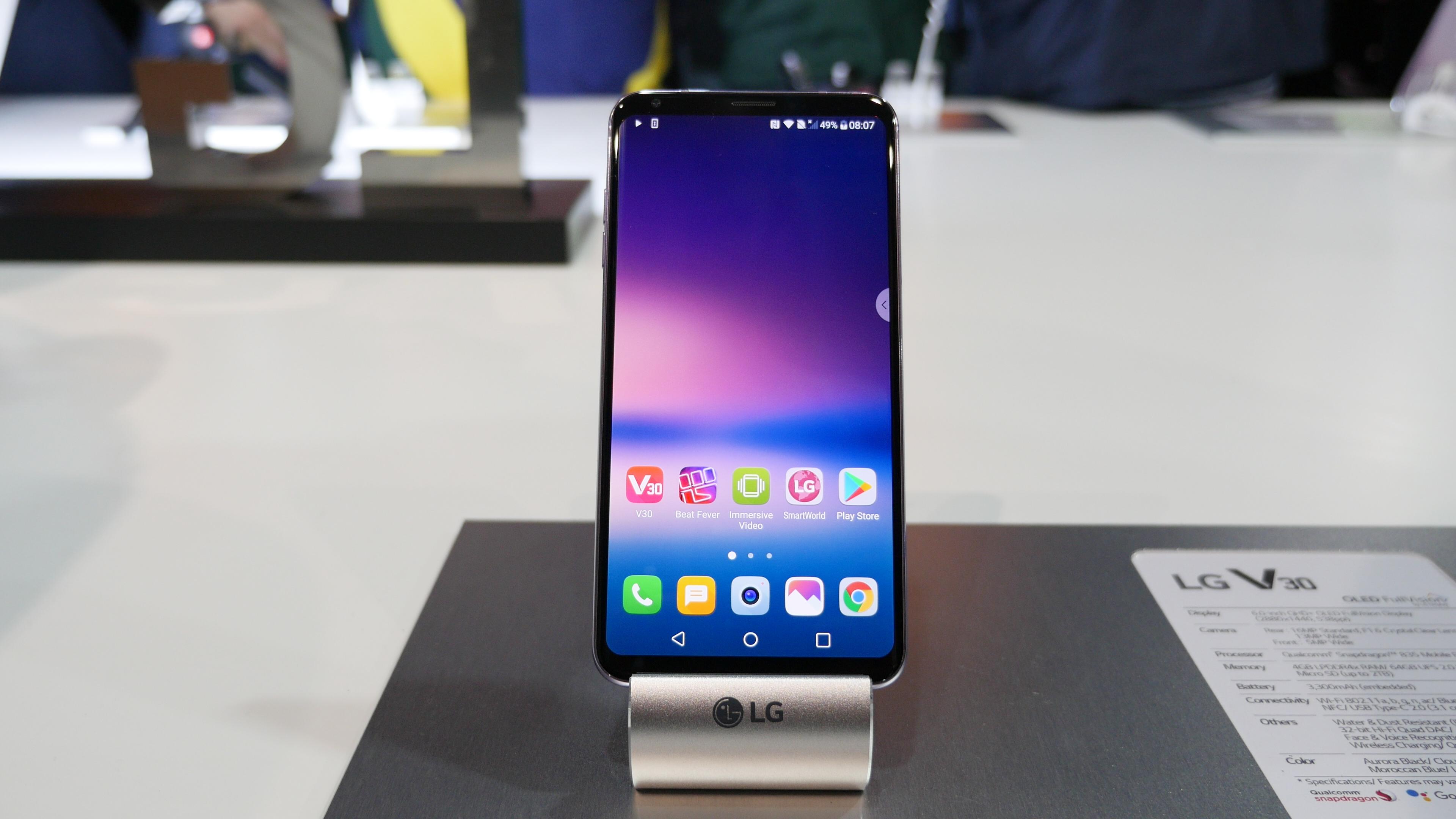 LG V30 : un vendeur roumain donne un prix