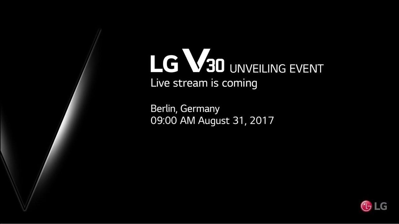 IFA 2017 : comment suivre la conférence de LG en direct