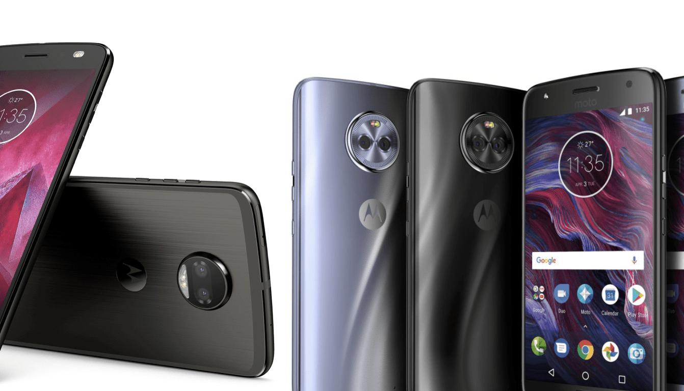 Motorola Moto X4 et Moto Z2 Force : disponibilités et prix en France