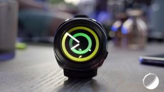 Prise en main de la Gear Sport: la montre connectée dédiée au bien-être