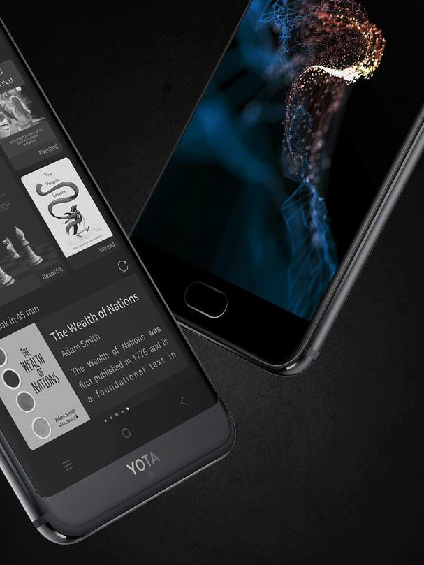 YotaPhone 3 : le smartphone double face E Ink se dévoile