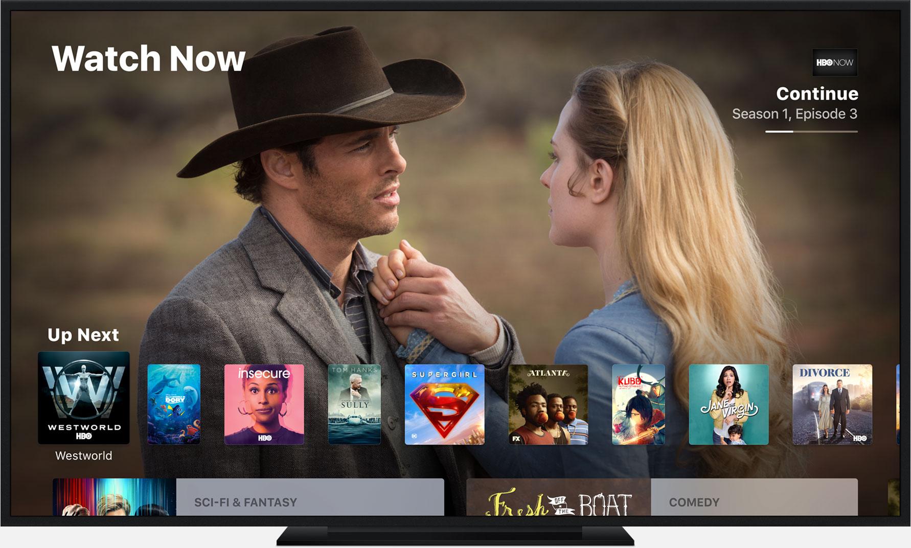L'Apple TV devient un meilleur décodeur avec le lancement de l'appli TV en France