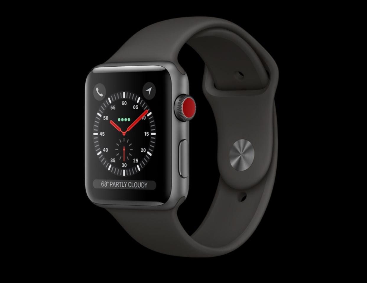 iOS 11 révèle le design des nouveaux AirPods et de l'Apple Watch Series 3
