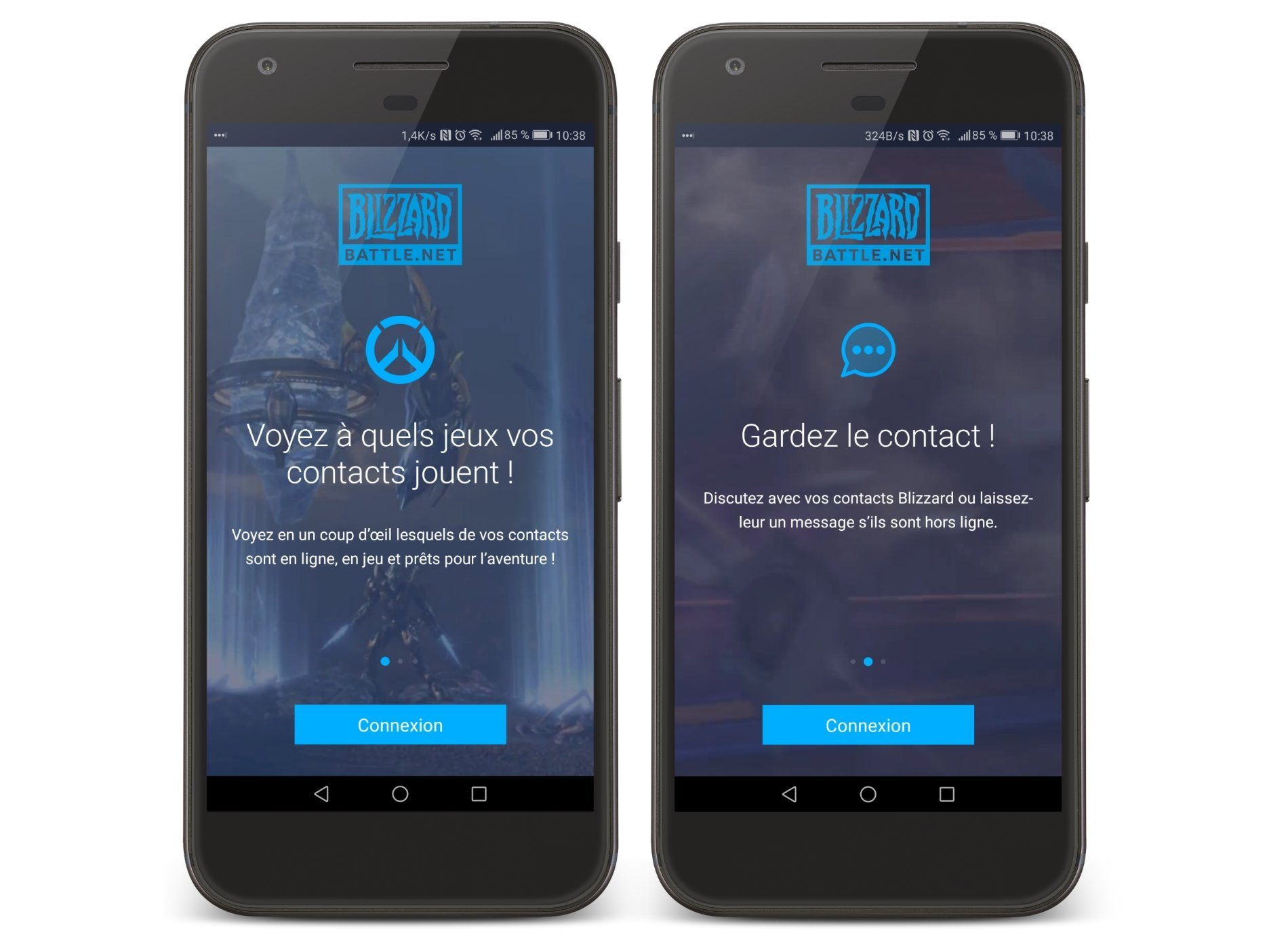 Blizzard lance son application Battle.net pour Android et iOS