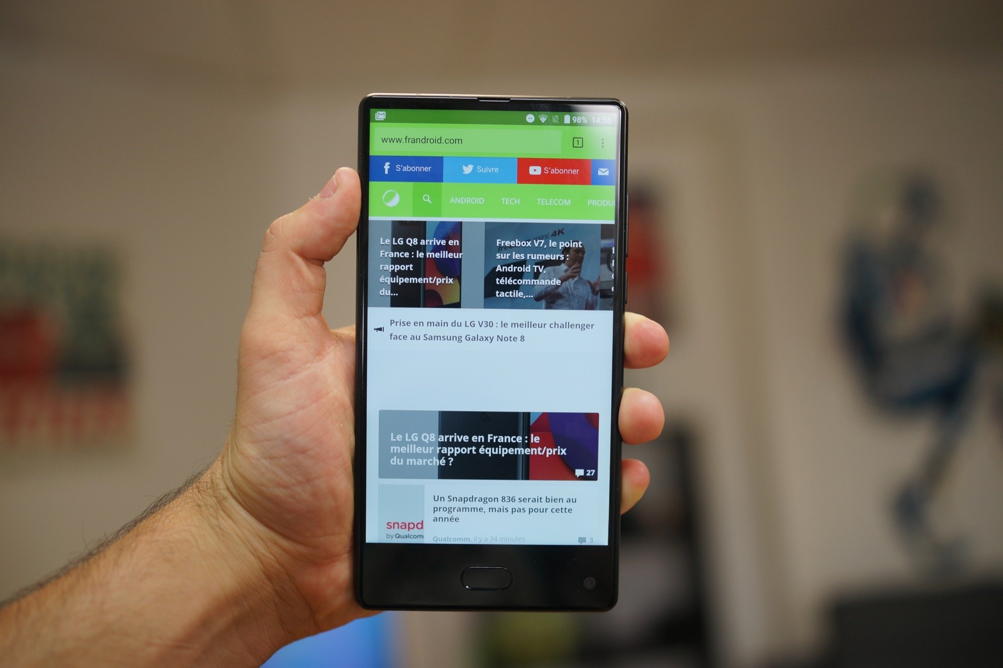 Test du Maze Alpha, le smartphone Android inconnu au bataillon