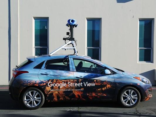 Les voitures Google Street View feront des photos bien plus précises