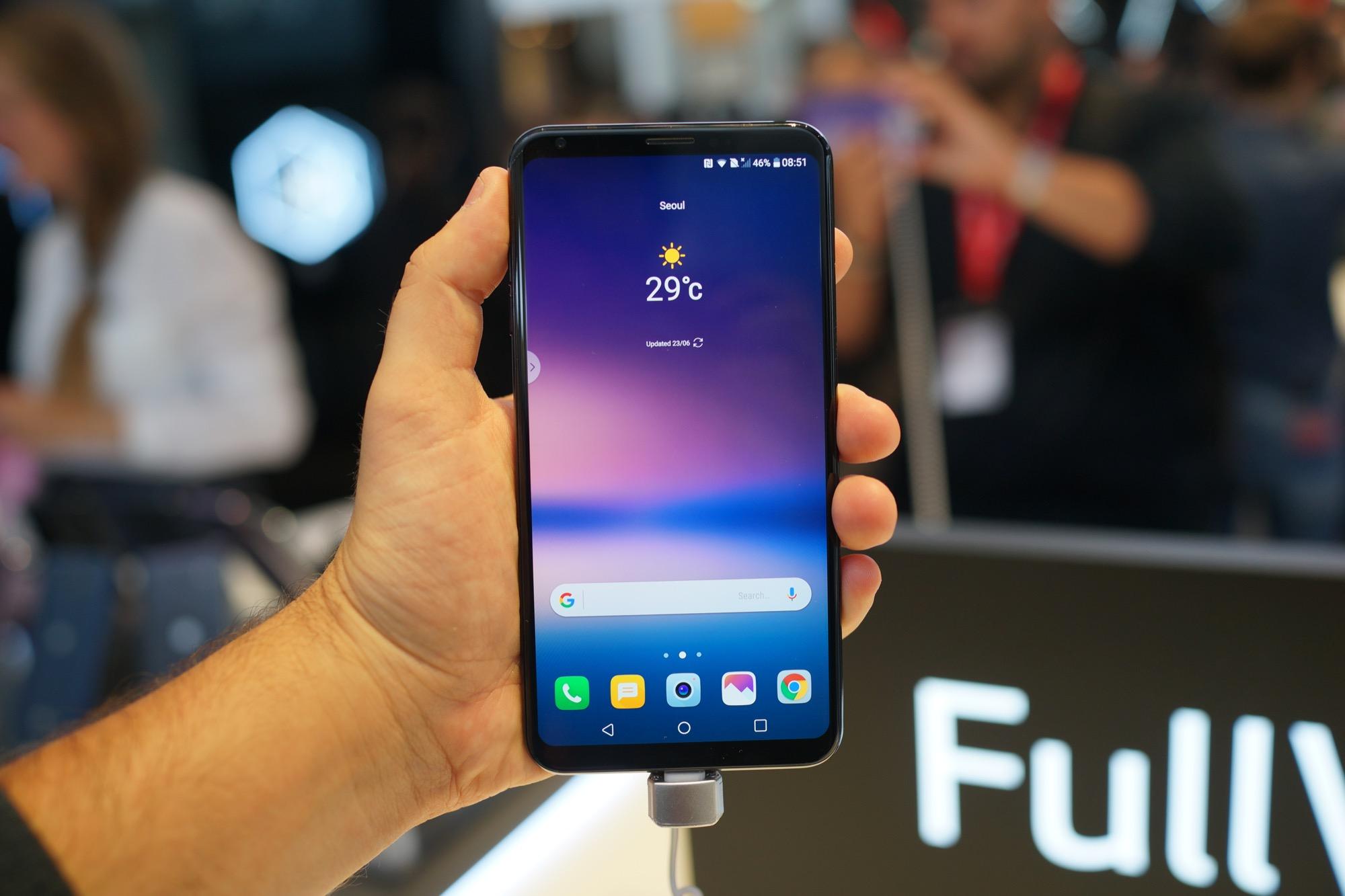 Unboxing du LG V30, le meilleur smartphone de LG avec écran pOLED