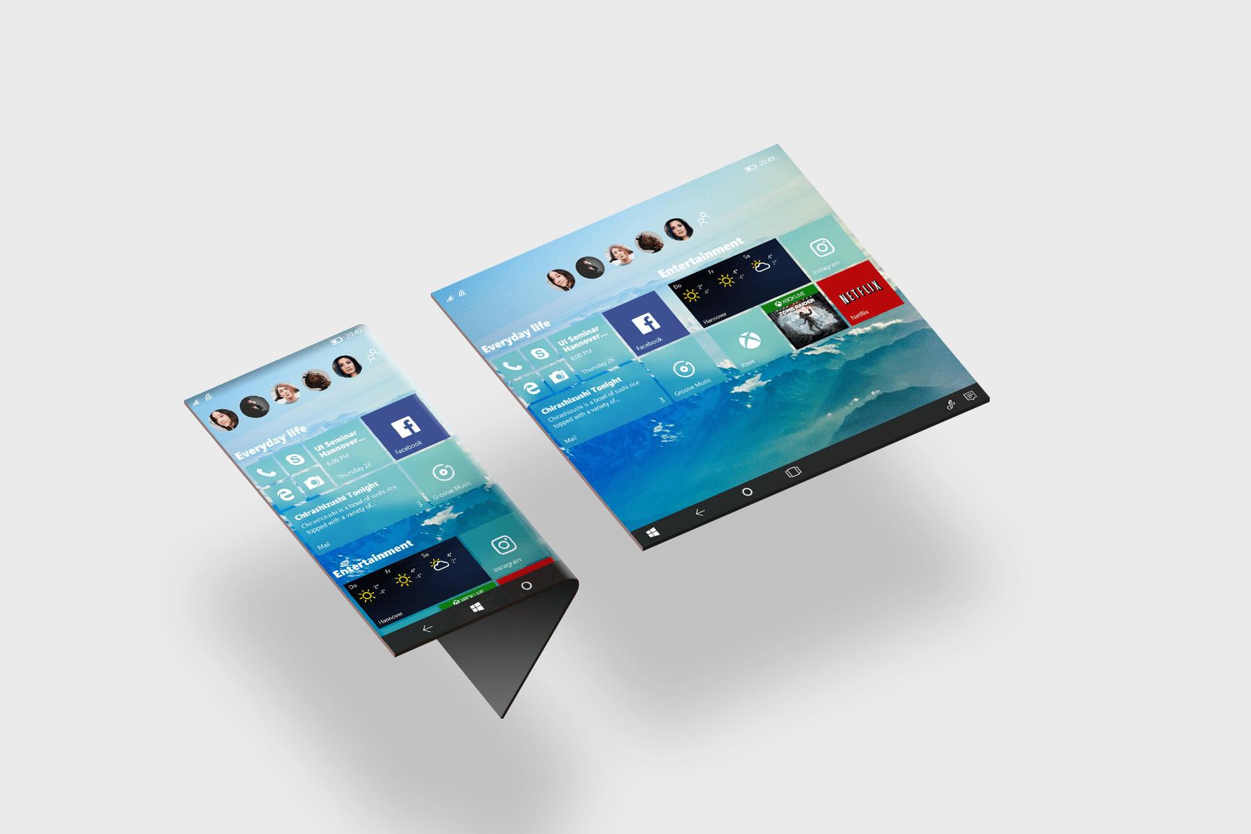 Une version Windows pour les appareils pliables ? Microsoft travaillerait déjà dessus