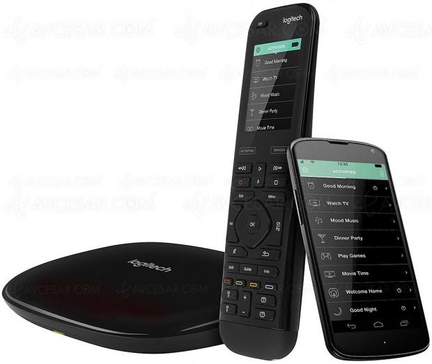 Logitech Harmony : la télécommande universelle adopte Google Assistant