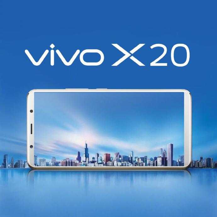 Vivo X20 : un nouveau 18:9 sans bordures officialisé la semaine prochaine