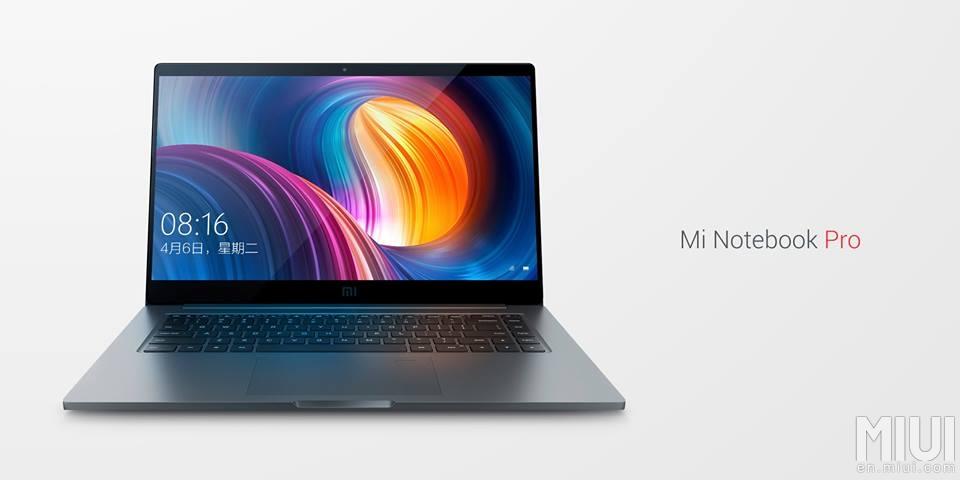 Xiaomi Mi Notebook Pro : le fabricant chinois s'attaque au MacBook Pro