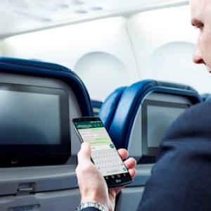 Delta : les messageries instantanées gratuites en vol, du moins en partie