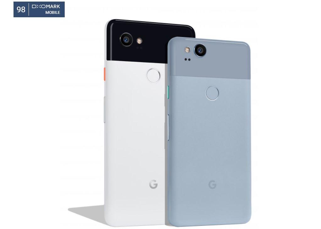 Le Google Pixel 2 bat largement l'iPhone 8 au test DxOMark