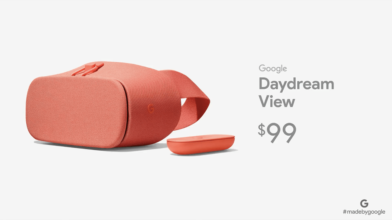Nouveau Google Daydream View : plus confortable, mais plus cher