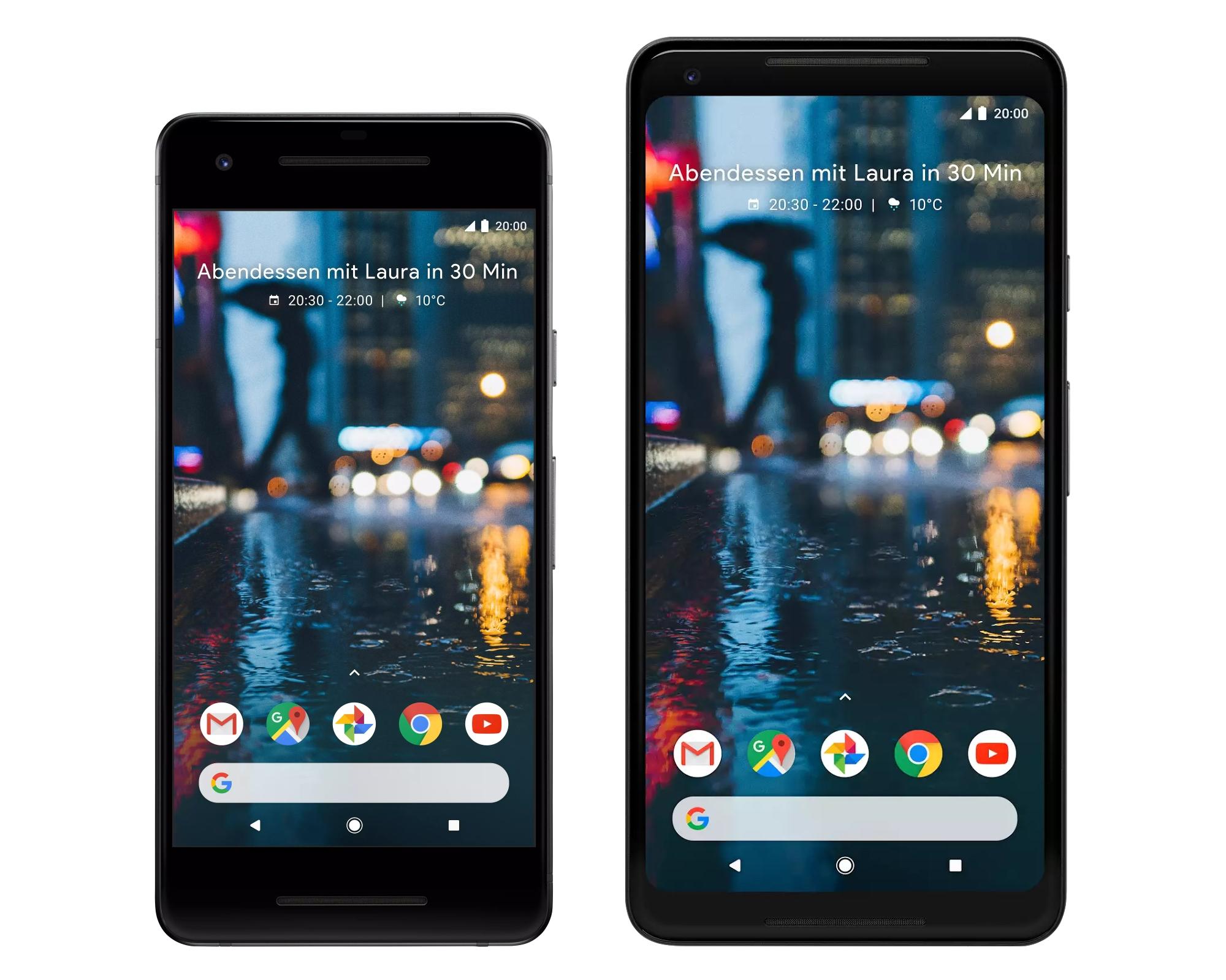 HTC avait préparé un Google Pixel 2 XL alternatif avec une grande batterie