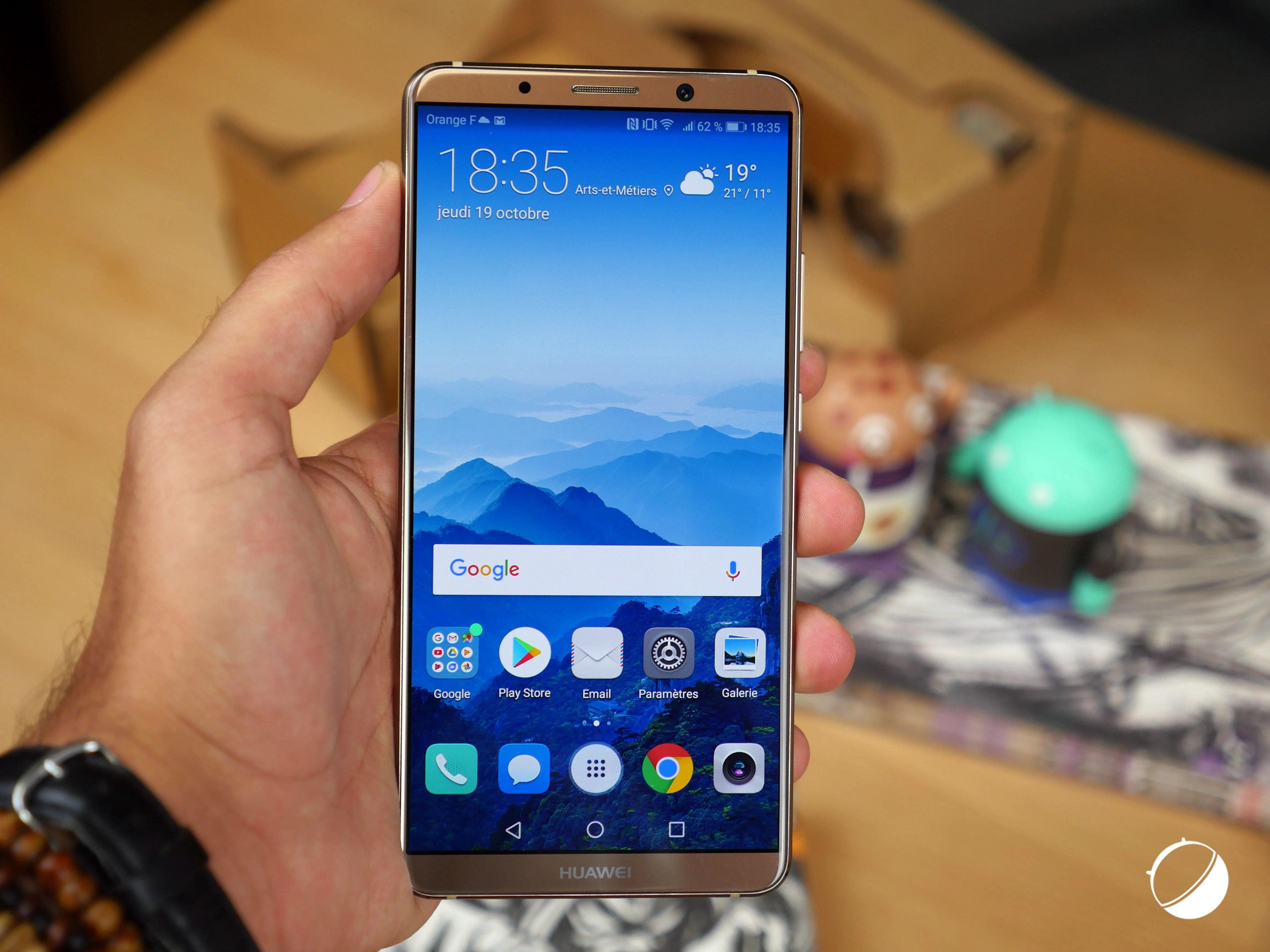 Test du Huawei Mate 10 Pro: le borderless presque parfait