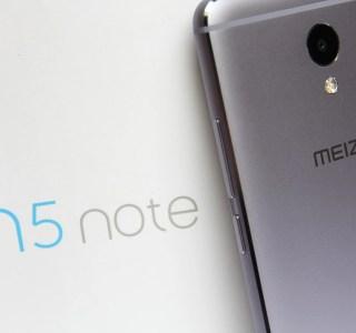 Test du Meizu M5 Note : le smartphone sans prétention