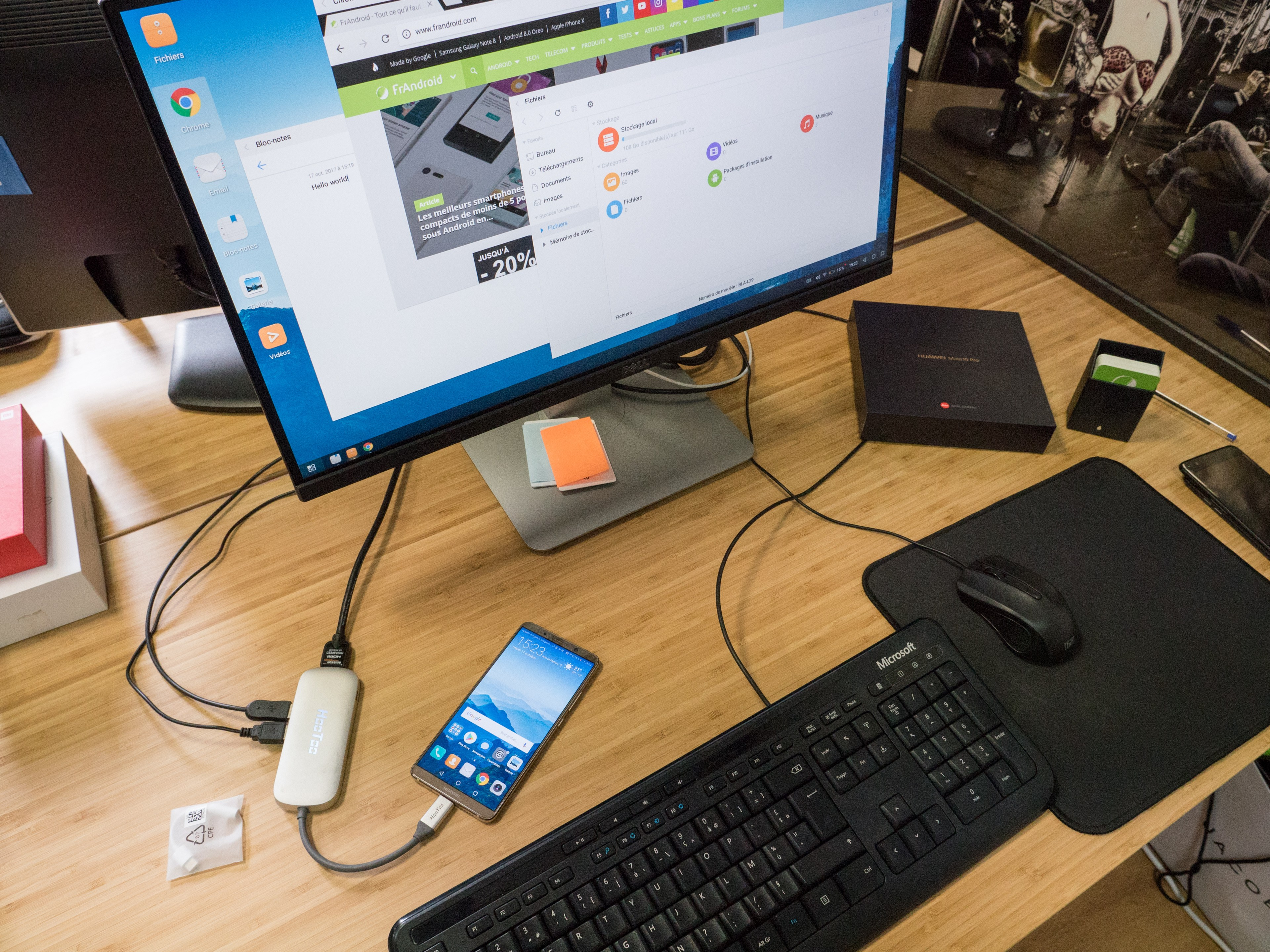 Transformer son smartphone en PC ou passer de l'un à l'autre ?