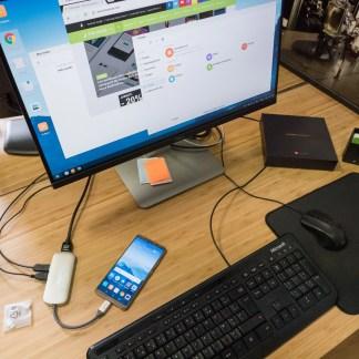 On a essayé le mode PC du Huawei Mate 10 Pro : comparatif avec Samsung DeX