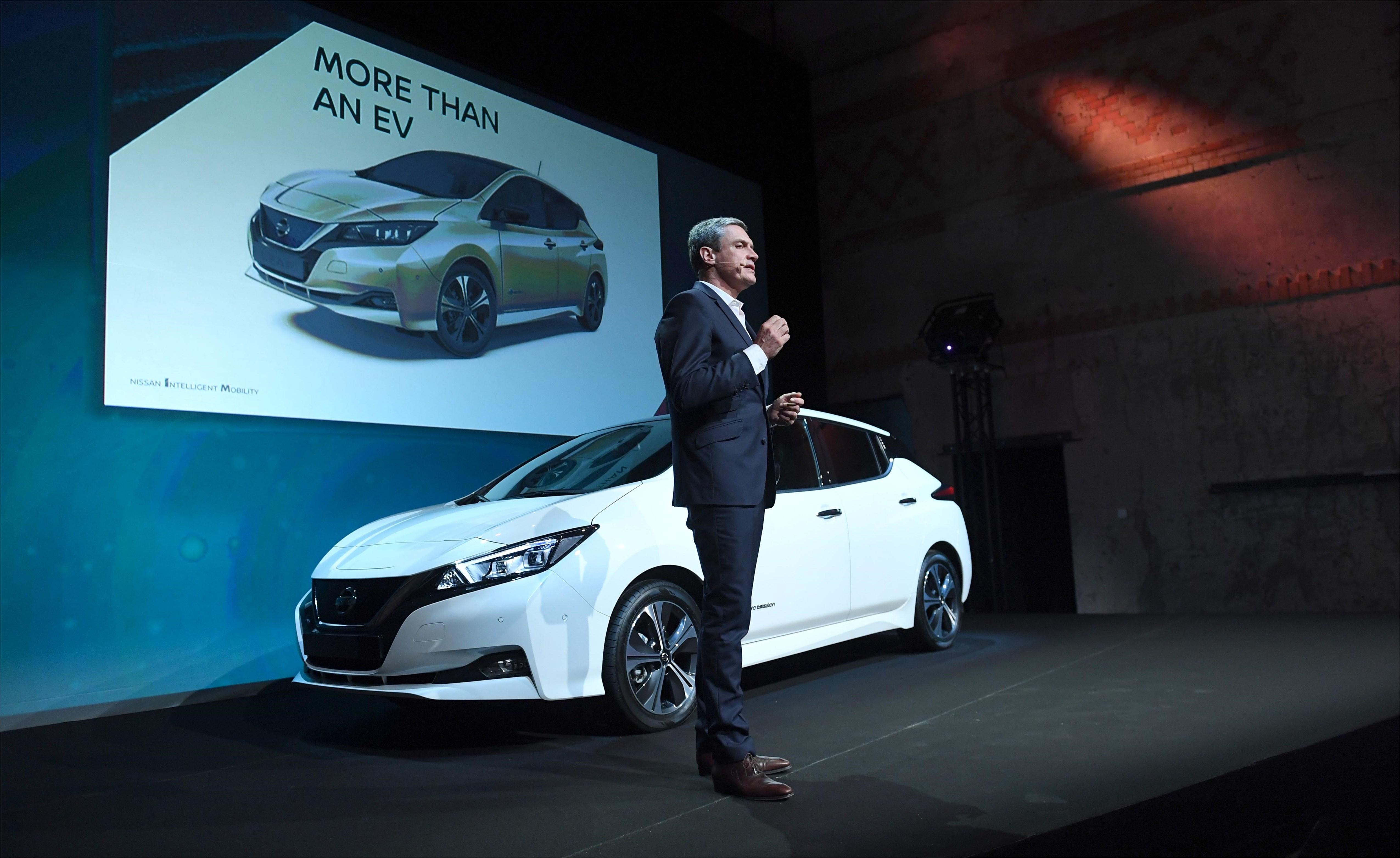 Nissan Leaf 2.Zéro : prix compétitif pour la version de lancement européenne