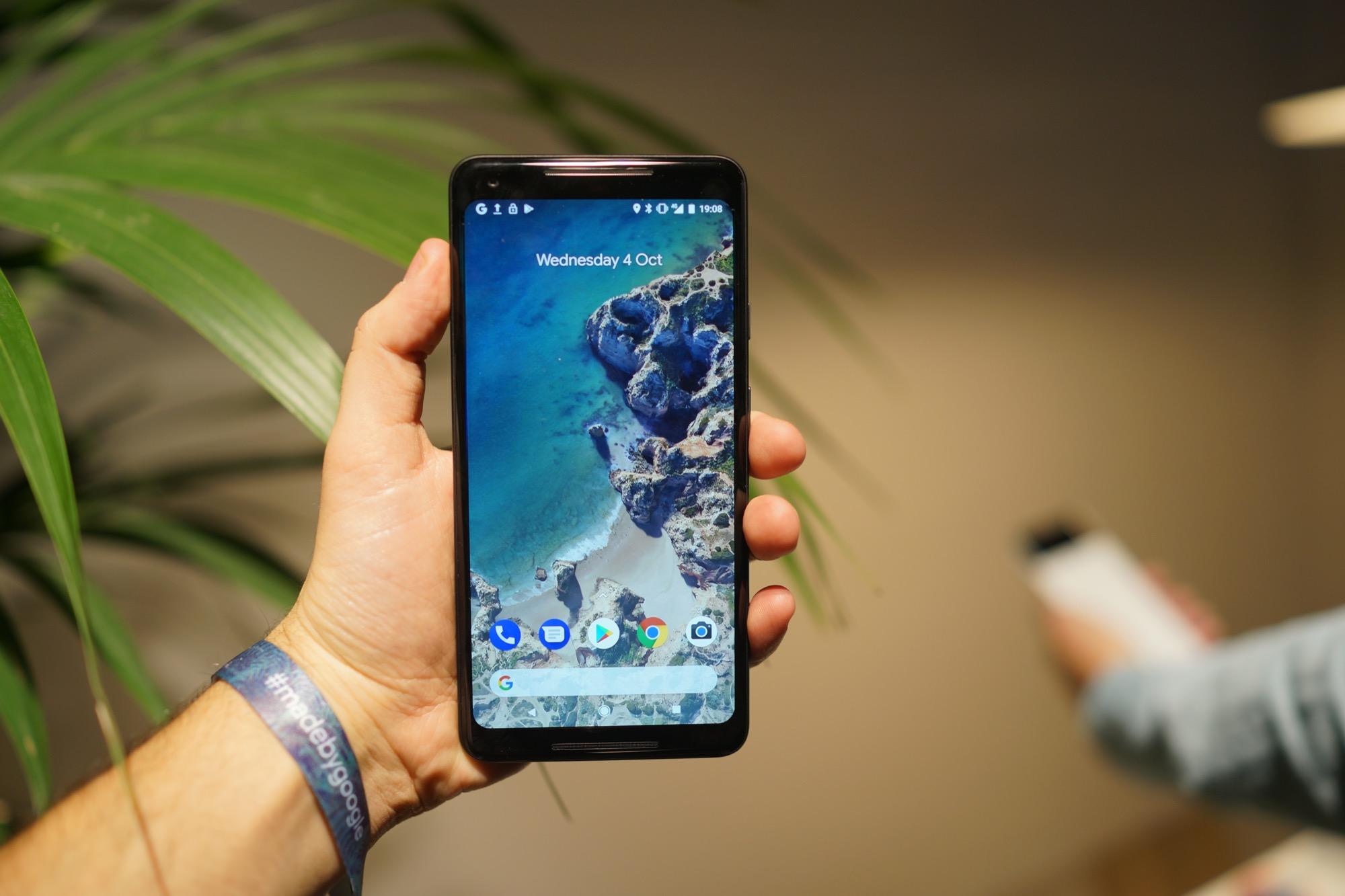 Google Pixel 2 XL: l'écran tactile a des problèmes de réactivité sur les bords