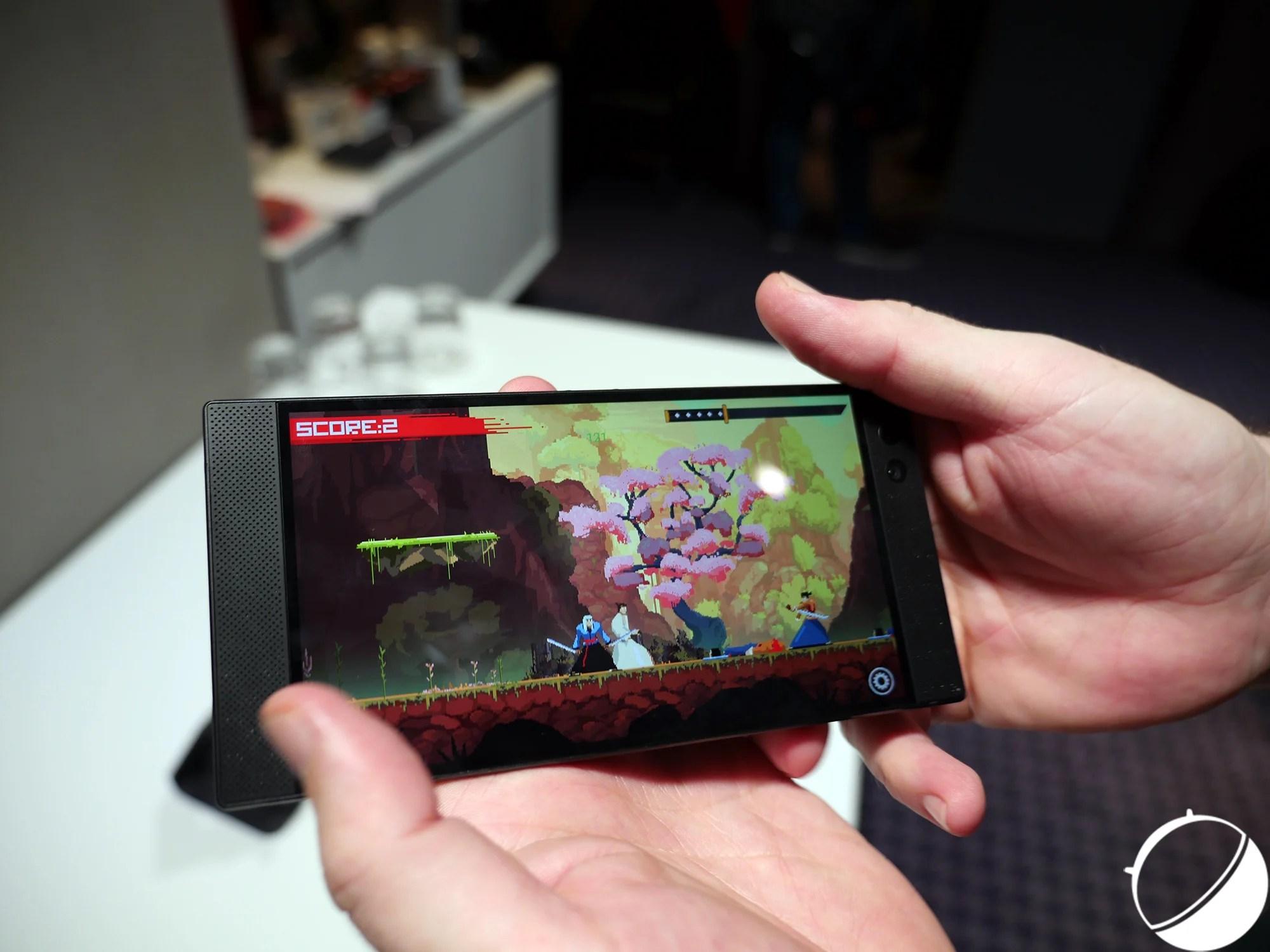 Razer Phone et le 120 Hz, l'argument marketing de trop ?