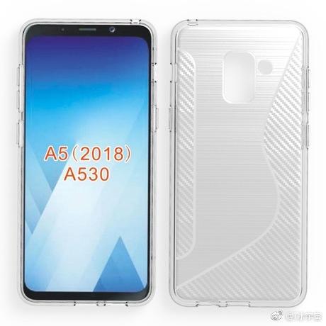 Samsung Galaxy A5 2018 : de nouveaux accessoires confirment son design