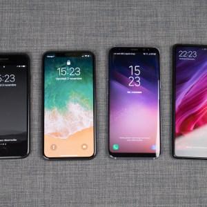 Écrans borderless : des smartphones de plus en plus difficiles à distinguer