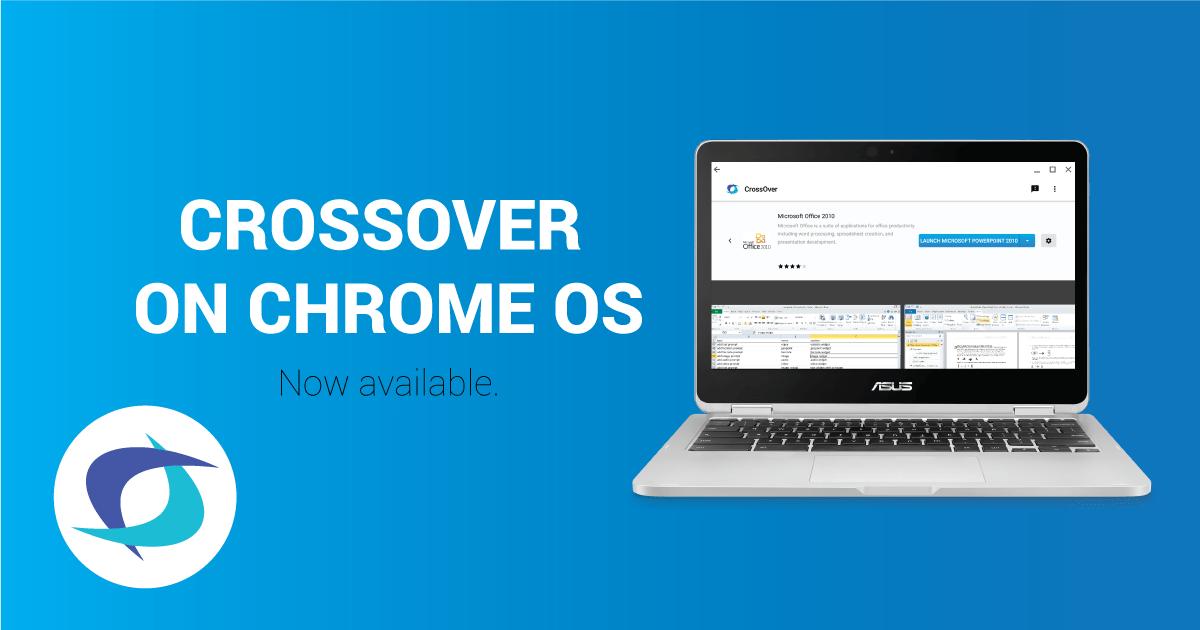 Utiliser des applications Windows sur Chrome OS, c'est possible (en bêta)