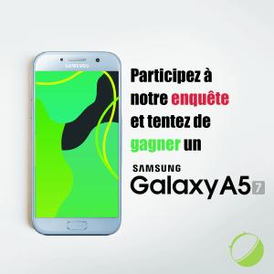 Enquête Black Friday : gagnez un Galaxy A5 2017 en participant à notre grande enquête FrAndroid