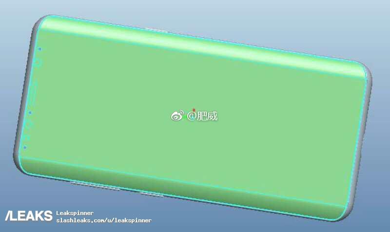 Galaxy S9 : une première idée du placement de son scanner d'empreintes