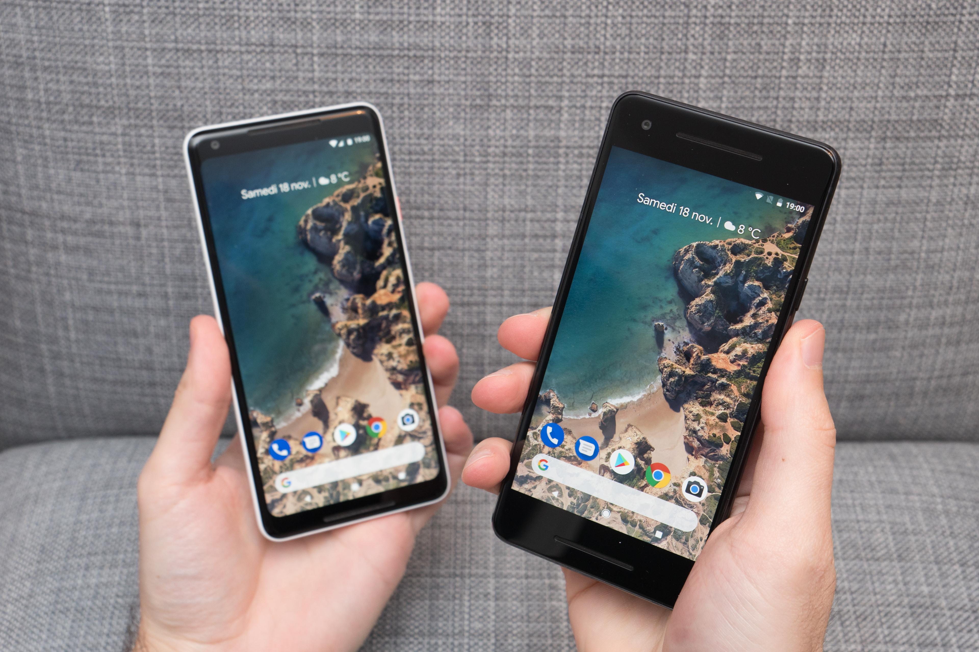 Le Pixel Launcher teste un nouveau design pour le Google Pixel 3