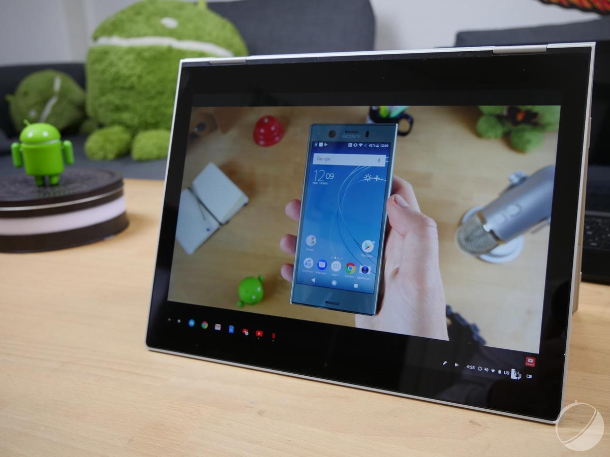 Tablettes : le renouveau avec Chrome OS ou Fuchsia ?
