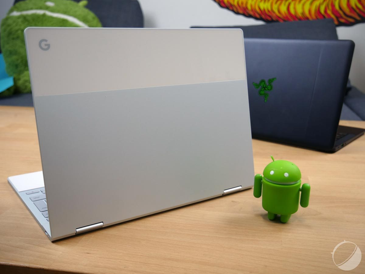Le Google Pixelbook devient compatible avec Fuchsia OS